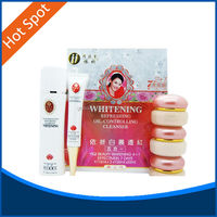 10 sets skin whitening facial yiqi beauty whitening cream