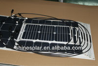Marine use ultra light flexible solar pv module 80w