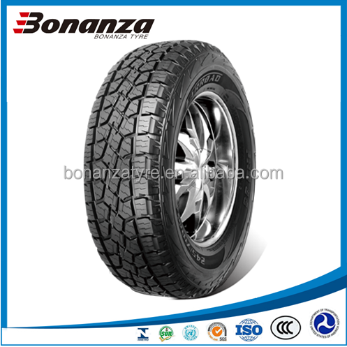 New Chinese All Terrain SUV Car Tire Manufacturer 255/70 R16