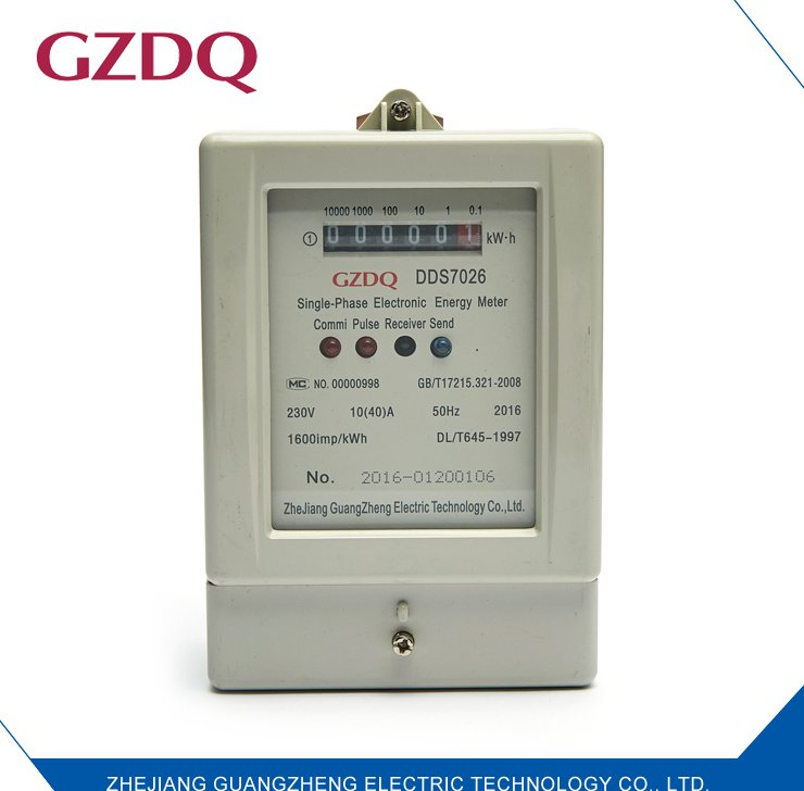 Wholesale price high quality 230V 50Hz electronic single phase digital electric meter