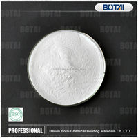 Vac/e redispersible polymer powder for flexible thin-bed mortars