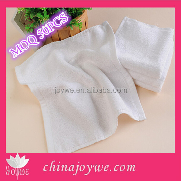 Small Promotion Hand towel Cheap White Cotton Fingertip Towels Wholesale