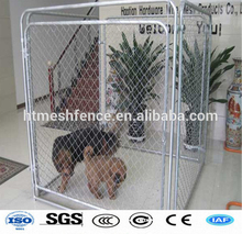 Easily assembled hot-dipped galvanized chain link dog kennels/cages/houses(factory)