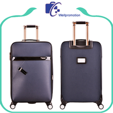 Expansion Vintage Maleta Cheap Suitcase Luggage With Front Pocket