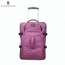 China Supplier Hard Case Cabin Luggage Travel Trolley Bag