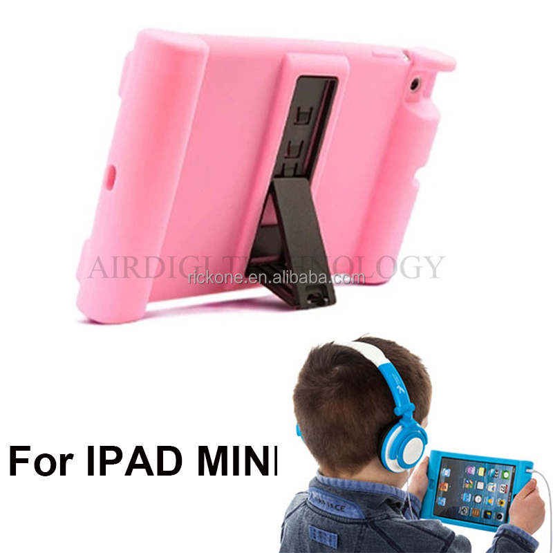 kids shock proof case for ipad 1 2 3 rugged case for ipad mini 1 2 3
