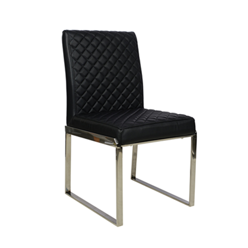 Modern designer furniture cheap leather dining chair buy for Chair design leather