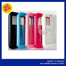 Leather flip case for nokia asha 501,Luxury Slim Flip PU Leather Card Holder Stand Cover Case