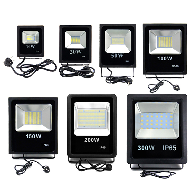 reflector led 120lm/w 10w 20w 30w 50w 100w 150watt led flood light ip66