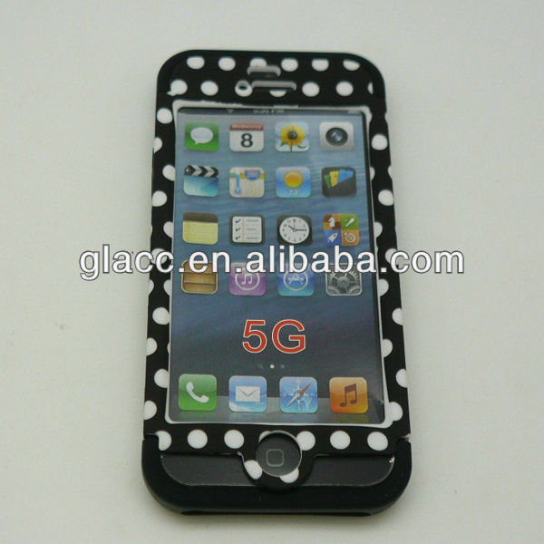 2013 New arrive fit for Apple Iphone 5g, phone case cover for iphone 5 life proof case