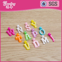 Fashion Design Plastic Letter Alphabet Beads
