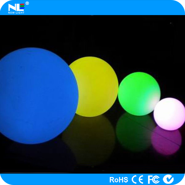 mood-Changing /glitter /RGB LED light ball for wedding ceremony /party/decoration