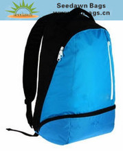 China Bags Factory OEM Big Quantity Custom Day Backpack with Vertic Front Zipper Pocket