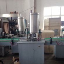 Aluminium ,Tin , plastic beverage Can sealer,Plastic can seaming machine