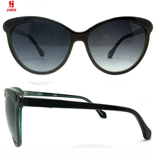 2017 Wholesale china acetate Sunglasses cat eye for bulk buying