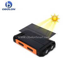 10000mah Solar Power Bank Dual USB Portable External Battery Charger For Mobile Phone