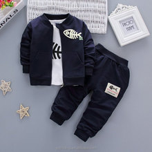 Boys Winter Spring cotton 3 pieces baby kids clothing <strong>children</strong> clothes <strong>set</strong> newborn wholesale