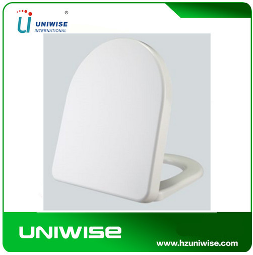 Sanitary ware bathroom soft closing hinges toilet seats