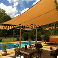 280g/m2 3x4x5 M/PCS Triangle Sun Shade Sail with UV protection