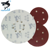 100mm 24 Grit Adhesive Hook And Loop Sand Disc