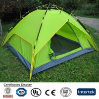 3 Persons Automatic Camping Family Tent Manufacturer