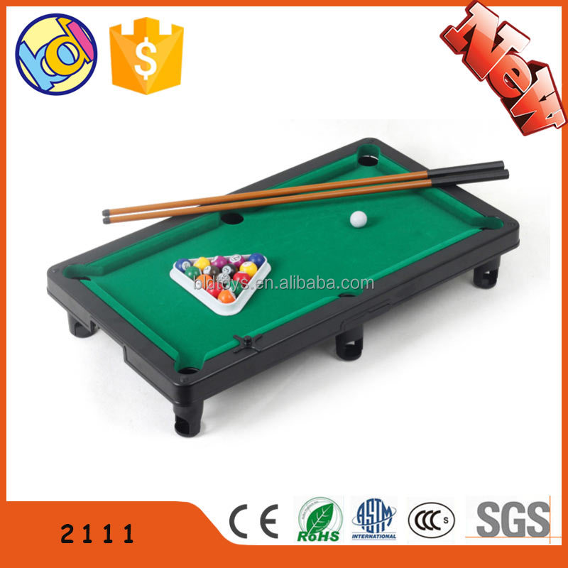 Table game snooker table for children for kids