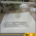 clear square slider zipper plastic packaging bags for makeup brushes/cosmetic