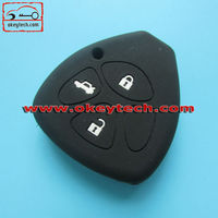 Okeytech silicone key cover Toyota Camry 4 buttons silicone key cover for silicone car key cover