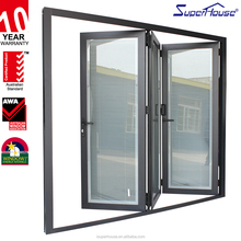 Superhouse AS2047 Commercial double glass bifold door