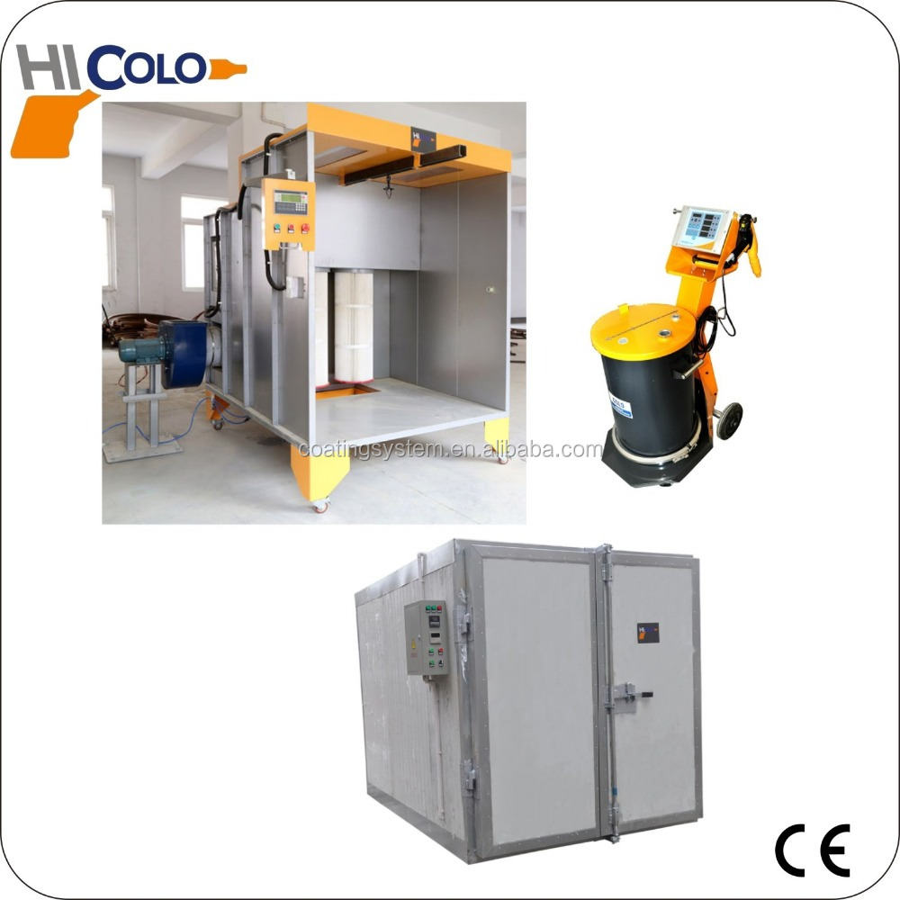 Used powder coating equipment for sale China supplier