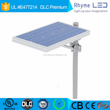Factory price 30W solar led street light,12V with Lithium iron phosphate battery for super highway trafficway