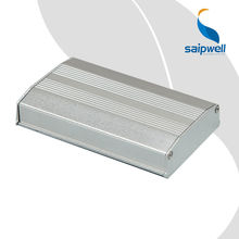 SAIP/SAIPWELL Waterproof Instrument Box 20*61*100mm Grey Cover Industrial Electronic Instrument Enclosures