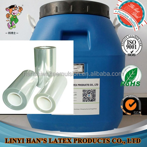 Han's high quality flexible packaging laminating adhesive with fast speed