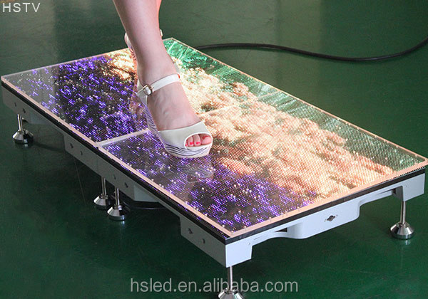 PH4.81 Outdoor SMD Dance Floor LED Screen/Dance Floor Advertising/dance floor led rental stage