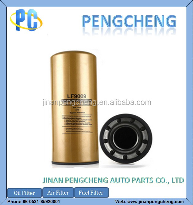 Truck Spare Parts Oil Filter LF9009 for Sinotruck HOWO