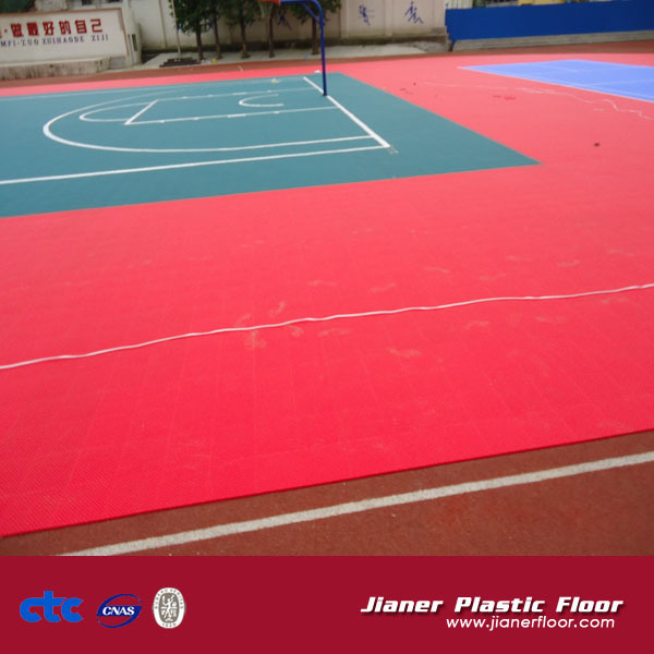 Portable Outdoor Waterproof Basketball Floor
