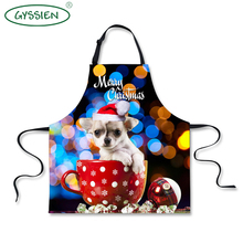 Latest design customized different types of aprons for Christmas