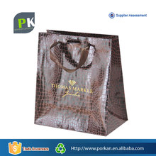 Wholesale Alibaba Eco Utility Leather Paper Tote Bag for Bling