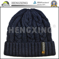 Custom wholesale cashmere beanie hats with custom label