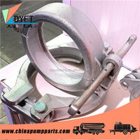 hot products schwing germany concrete pumps high pressure concrete pump pipe quick clamp made in China
