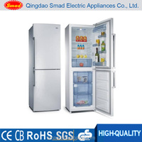 238L fridge freezer /combi refrigerators with bottom freezer