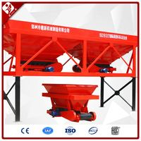 Pld 1200 Liter Batching Plant 4 Bin Factory Sale Concrete Dosing Machine With Three Hopper Pld1200