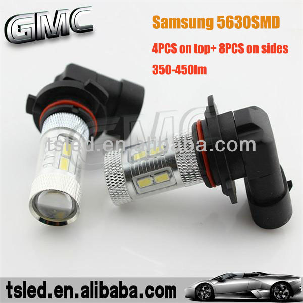 Hot Sale 11W Samsung 5630SMD 9005 9006 car led light,HB3 HB4 led light for car,9005 9006 led car light