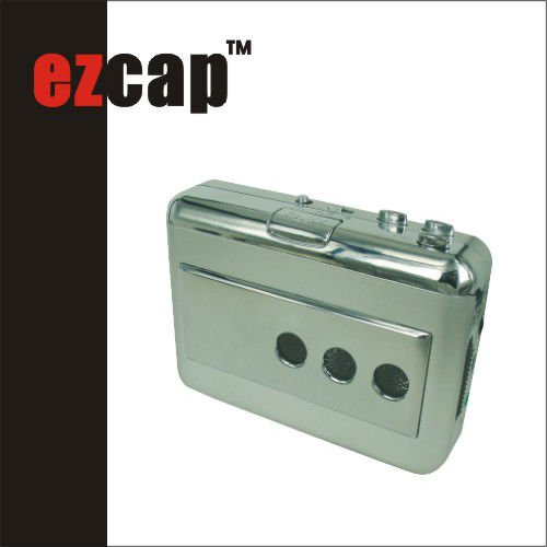 EzCAP USB tape recorder with phono input
