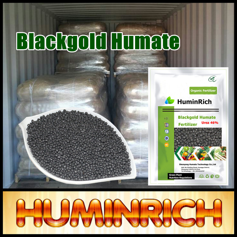 """HuminRich"" Shenyang Insoluble In Water Slow Release Blackgold Humate Urea Fertilizer Prices In India"