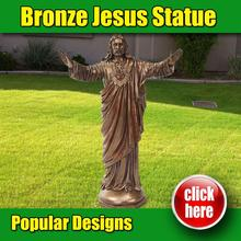 Made in China bronze statue of christ the king