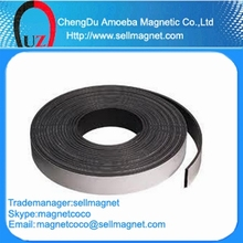 Flexible rubber strong magnetic strips