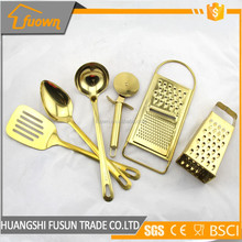 OEM Gold Kitchen Utensils Cooking Tools Set