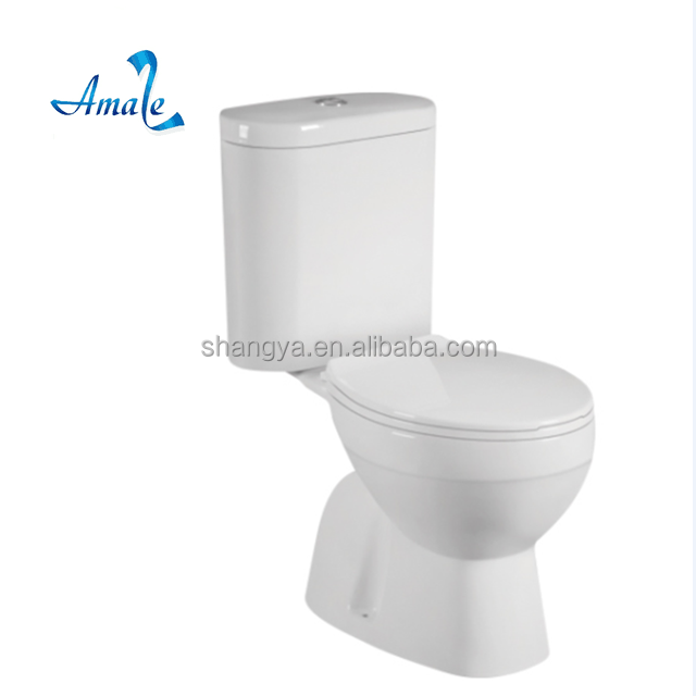 Popular Save Water Economic Bathroom Furniture portable toilet for home plastic toilet seat