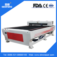 Manufacturer Senfeng SF1325GL 0.8mm stainless steel laser cutter